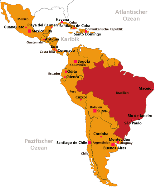 Brief Nach Mexiko Senden : Sprachreisen nach lateinamerika